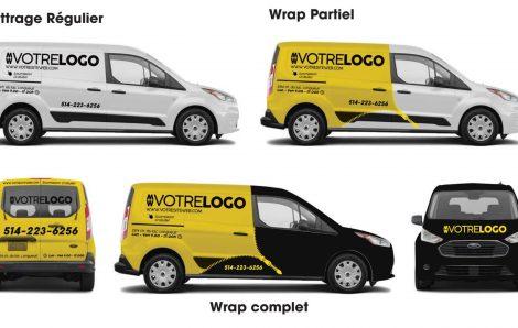 Wrap ou lettrage de véhicule ?